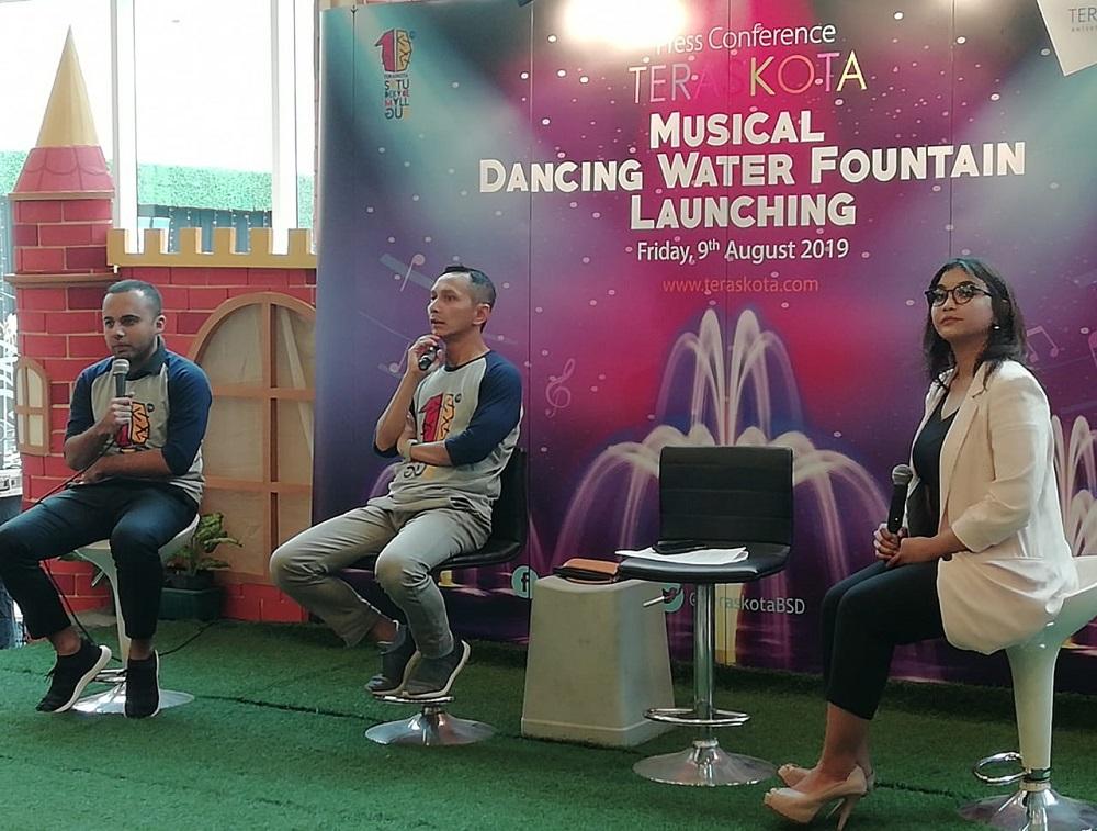HUT Satu Dekade, Mall Teras Kota Hadirkan Wahana Anak 'Musical Dancing Water Fountain'