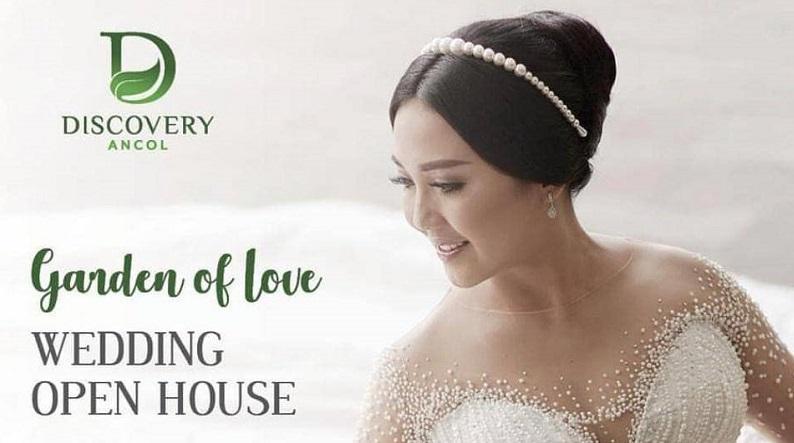 Usung Tema Garden of Love, Discovery Hotel Ancol Gelar Wedding Open House