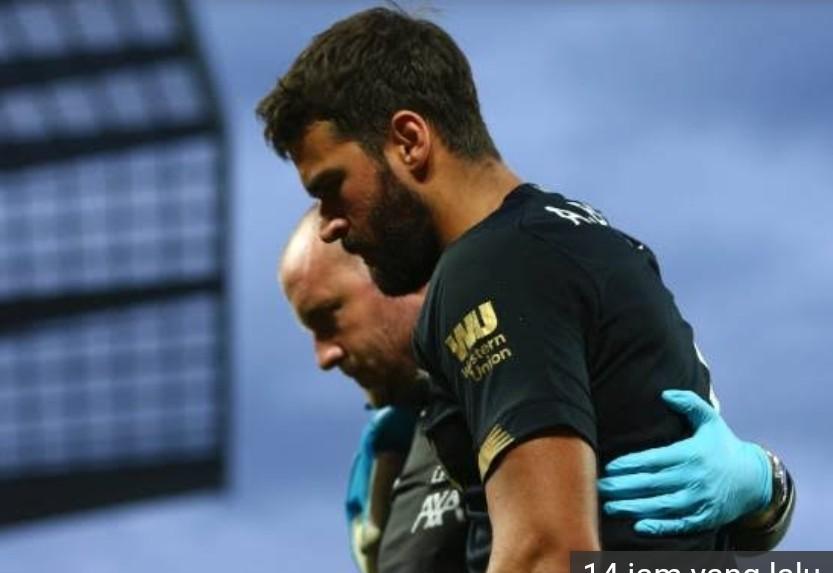 Cedera, Alisson Becker Dipastikan Absen saat Liverpool Bersua Chelsea