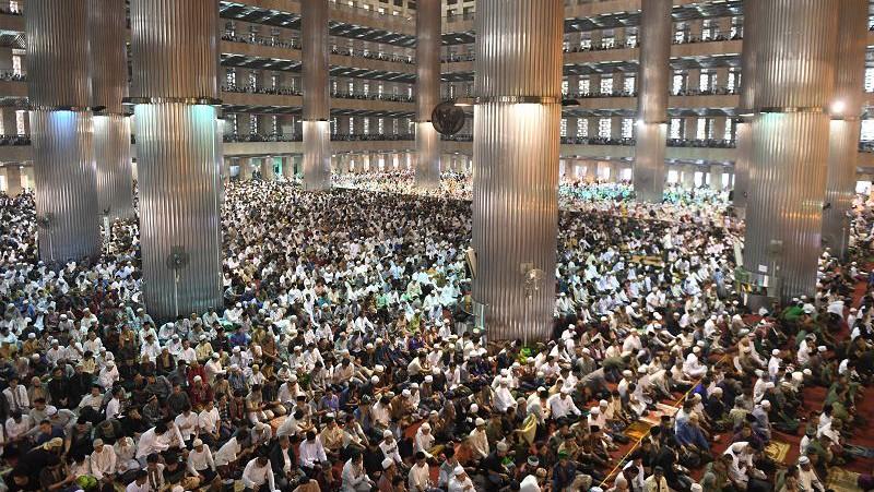 Shalat Idul Adha di Masjid Istiqlal Bisa Parkir di Gereja Katedral