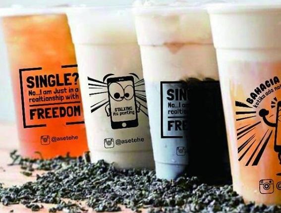 Promo Kemerdekaan ASETEHE, Paket 3 Produk Minuman Kekinian Dengan Booth ala Kontainer Cuma 7 Jutaan