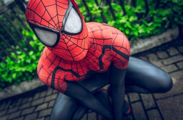Video Penampakan Spiderman di Kota Malang Hebohkan Jagad Maya