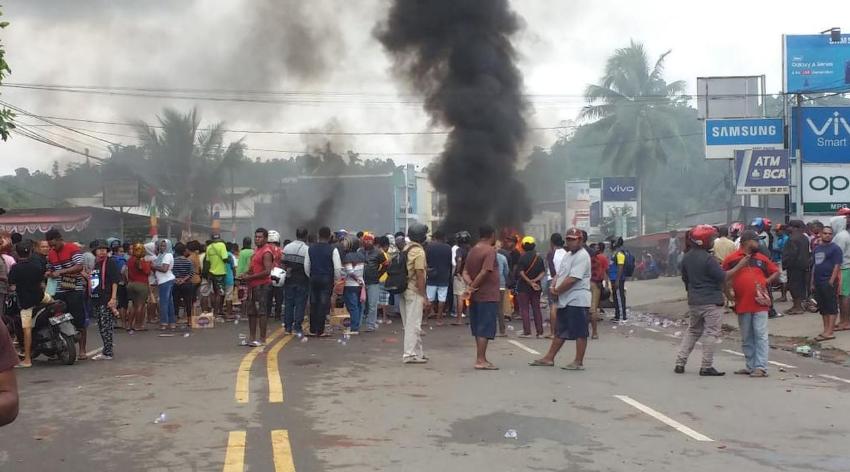 Kemkominfo Malam Ini Blokir Layanan Data di Papua dan Papua Barat