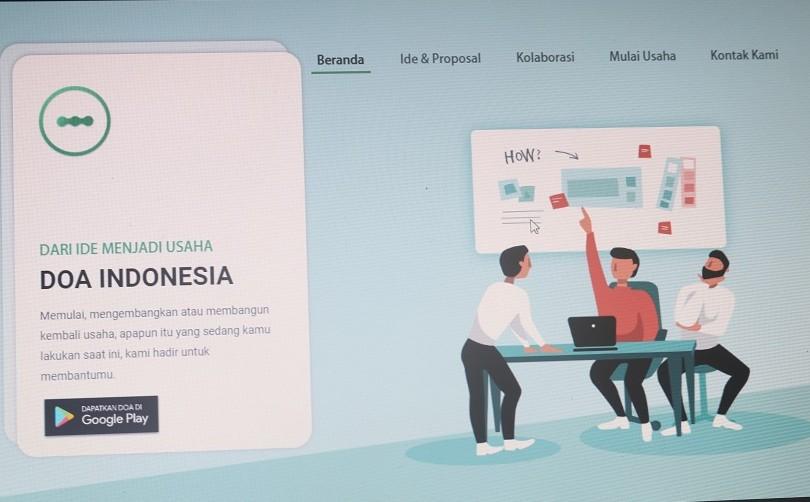 Cuma di Aplikasi DOA, Modal Ide Bisa Jadi Pengusaha Sukses