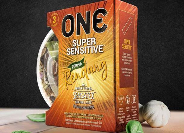 Setelah Teh Tarik, ONE Condom Umumkan Varian Rasa Rendang dan Nasi Lemak