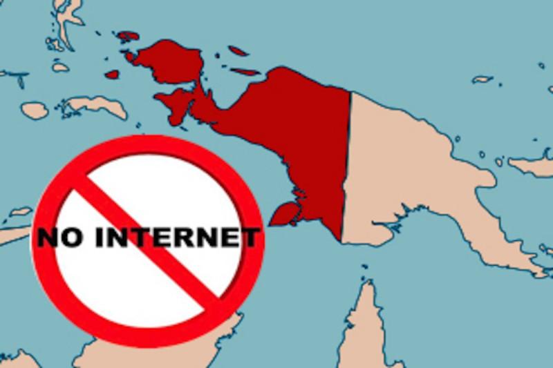Kominfo Identifikasi 33 Konten dan Total 849 Tautan Hoaks, Pemblokiran Data di Papua Masih Berlanjut