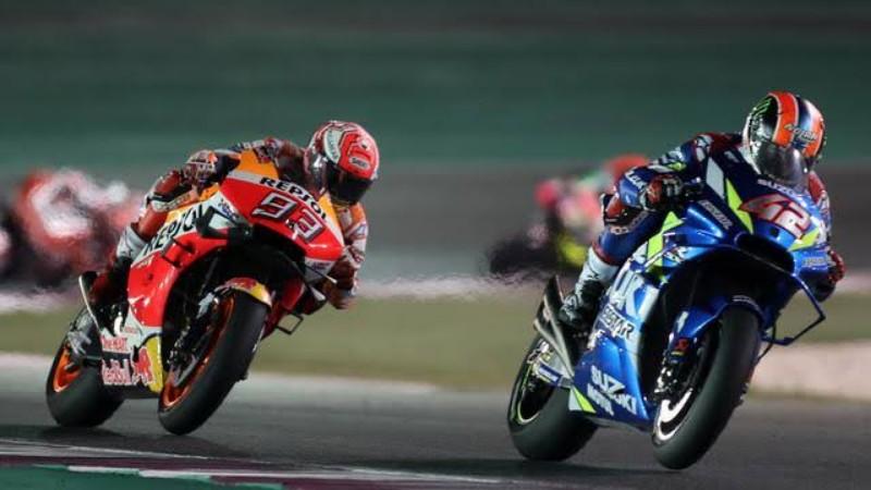 Hasil MotoGP Inggris 2019: Start Urutan Pertama, Marquez Kembali Gagal Taklukan Sirkuit Silverstone