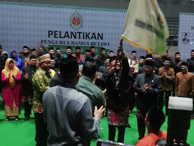 Dewan Majelis Adat Betawi Tunjuk Haji Oding Jabat ketum Bamus Betawi 2019-2023