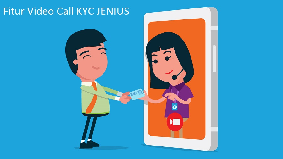 HUT ke-3 JENIUS Perkenalkan Video Call KYC Bareng Julie Estelle