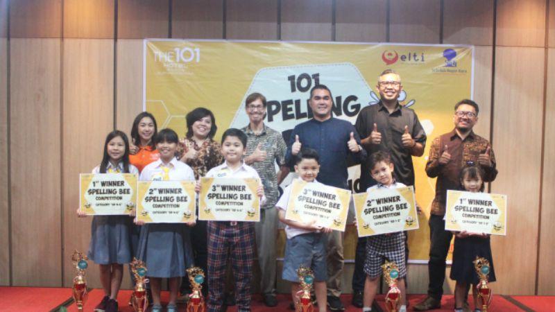 THE 1O1 Bogor Mengadakan acara 1O1 Spelling Bee Competition