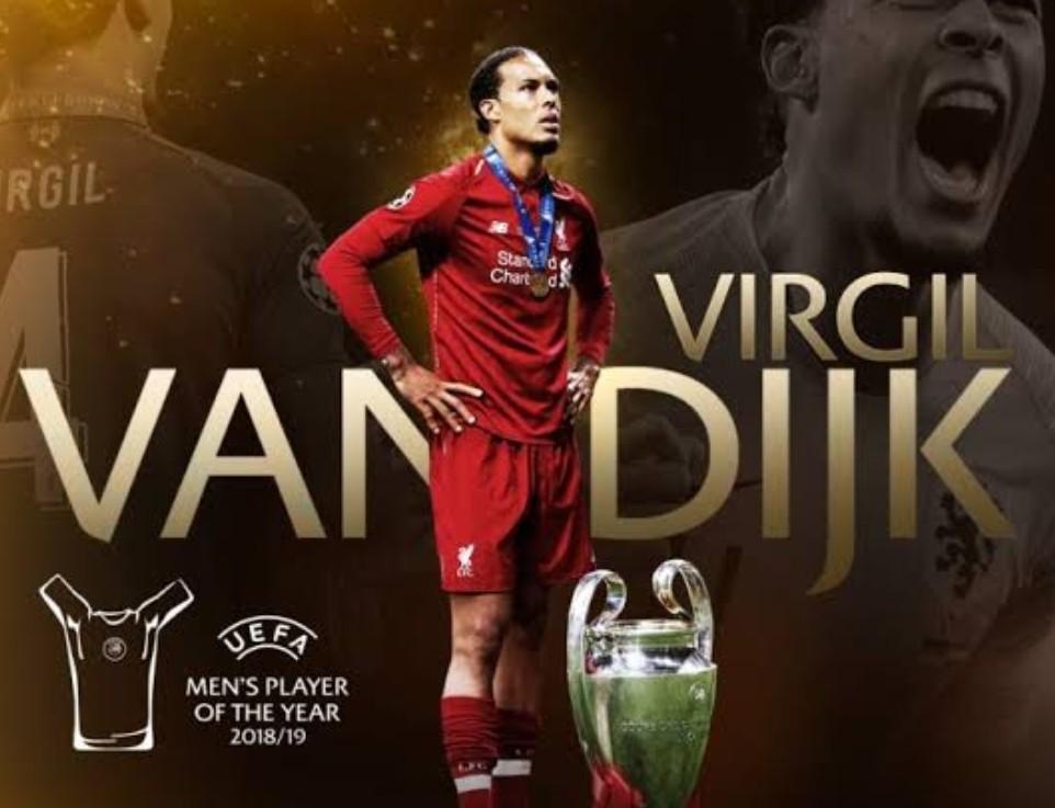 Pengumuman Virgil Sebagai Pemain terbaik Eropa 2018/19 Tandai Drawing Fase Grup Liga Champions