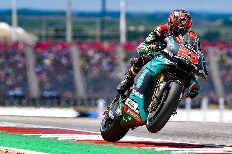 MotoGP San Marino 2019: Fabio Quartararo Catat Waktu Tercepat Dalam Sesi Tes di Sirkuit Misano