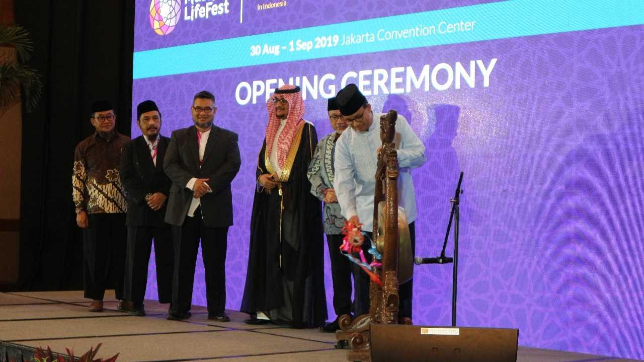 Buka Muslim Lifes Fest, Anies: Umat Islam Harus Memiliki Jiwa Enterpreneurship