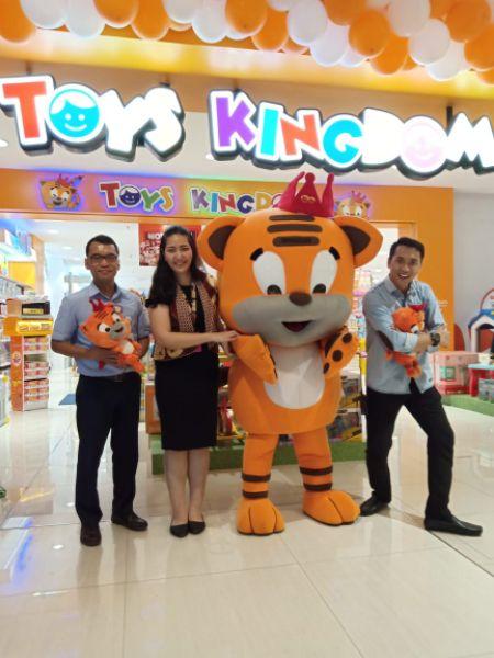 Lebarkan Sayap, Toys Kingdom Buka Toko Baru di Cirebon Superblock Mall