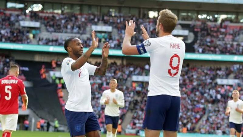 Kualifikasi Piala Eropa 2020 : Inggris Permalukan Bulgaria 4-0, Kane Catat Hattrick dan Satu Assist