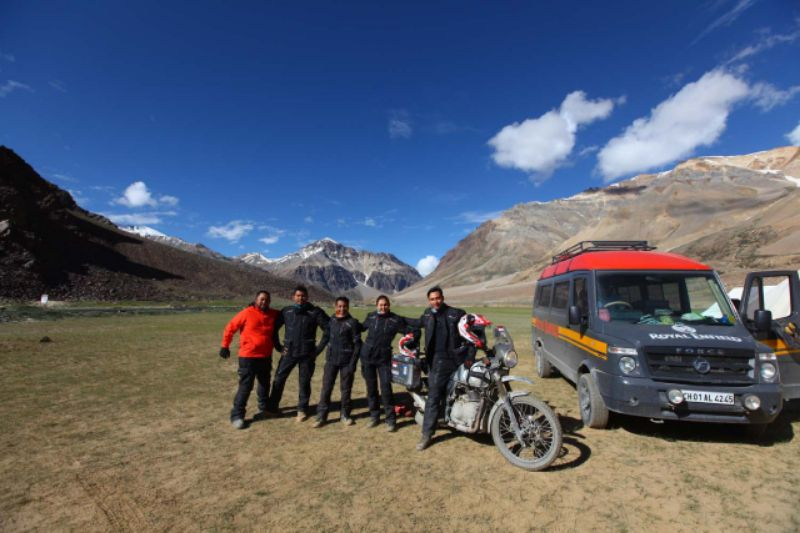 Oli Top 1 Bersama JPX Helmet Bagikan Pengalaman Darius-Donna Saat Touring Himalayan Ridge