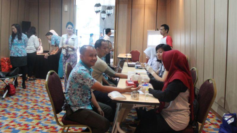 Setetes Kasih Sejuta Harapan, Hotel 1O1 Bogor Adakan Donor Darah 101 Peserta