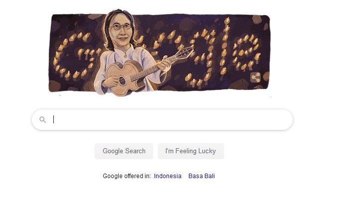 Jadi Doodle Google, Almarhum Chrisye Ternyata Memulai Karir Sebagai Pemain Bass