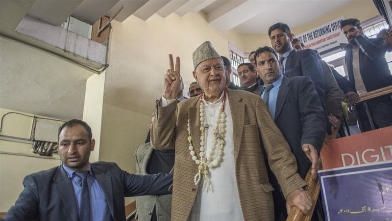 India Tangkap Abdullah Pemimpin Kashmir Abdullah dengan Hukum Kontroversi