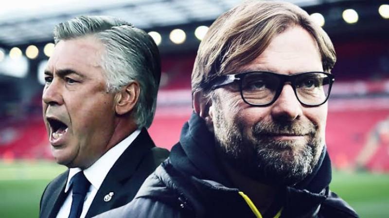 Laga Napoli Kontra Liverpool Ajang Adu Ampuh Racik Strategi Klopp dan Ancelotti