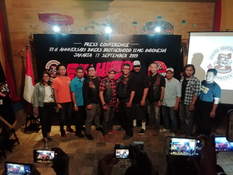 Usung Tema 'Evolution' Perayaan HUT 31 Bikers Brotherhood MC Bakal Digelar Eks Bandara Kemayoran