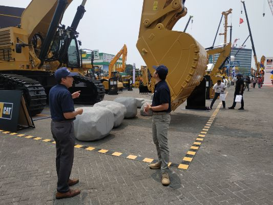 Trakindo Hadirkan Teknologi Terdepan di Mining and Construction Indonesia 2019