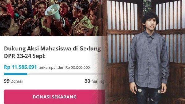 Diduga Jadi Penggalang Dana Demo Mahasiswa, Musisi ini Ditangkap Polisi