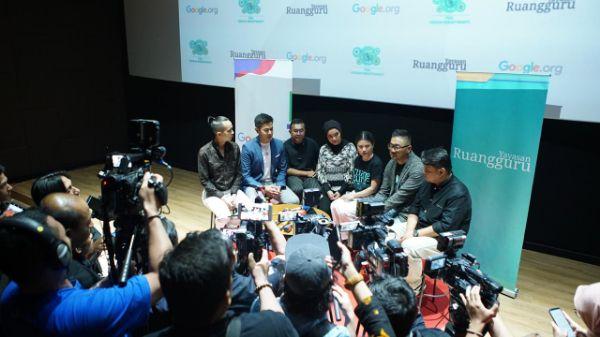 Yayasan Ruangguru dan Google Tingkatkan Literasi Digital, Ajak Siswa dan Guru Cerdas Berinternet