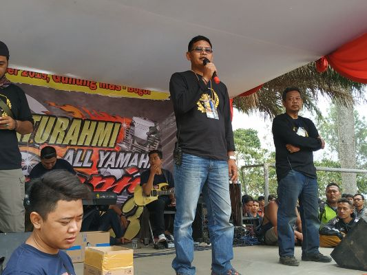 Halim Scorpio Community Mendukung Penuh Kegiatan SUNMORI 3 All Yamaha Scorpio