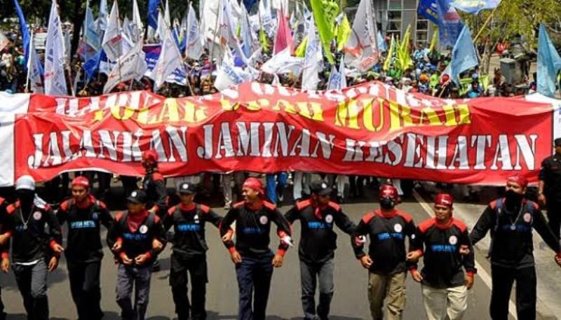 Siang ini Mahasiswa Demo di Senayan, Buruh Demo di Kantor Sri Mulyani