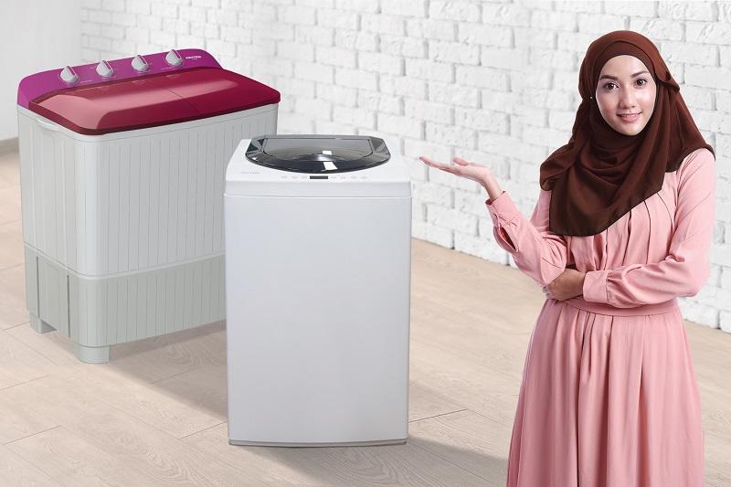 Sasar Hijabers, POLYTRON Hadirkan Teknologi Mesin Cuci Hijab Series