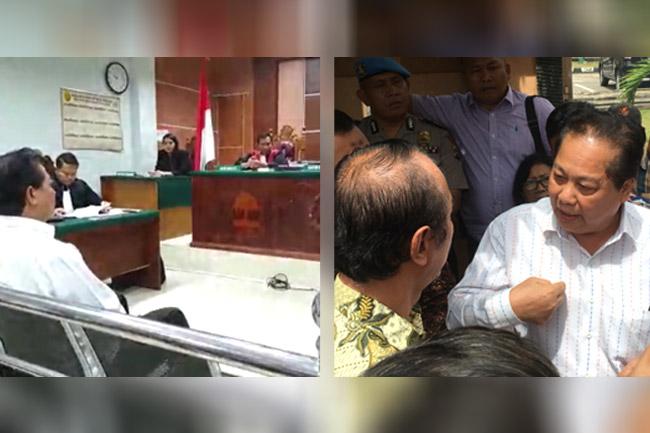 Millenium Danatama Group Telan Dana Nasabah Hingga Triliunan Rupiah, Korban Geruduk Terdakwa