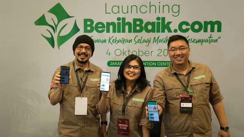 Andy Noya cs Sebarkan Virus Kebaikan Lewat Platform Crowdfunding 'BenihBaik'