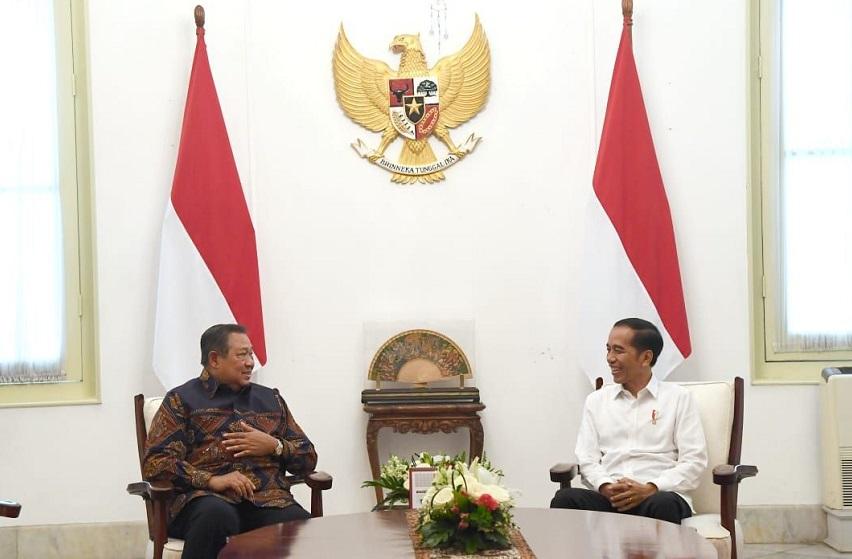 Megulik Makna Pertemuan SBY dan Jokowi di Istana Kemarin