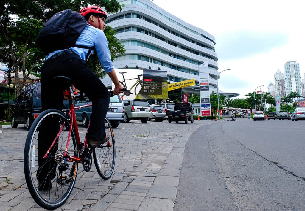 Kabar Gembira Buat Goweser, TransJakarta Siapkan Tempat Parkir Khusus Sepeda