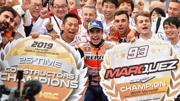 Gagal Kalahkan Marquez, Quartararo Kunci Titel Rookie of the Year Sekaligus Geser Rossi
