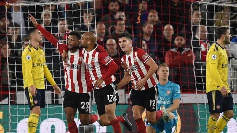 Kehabisan Peluru, The Gunners Menyerah 0-1 dari Sheffield United