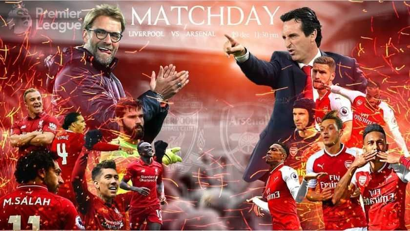 Rentet Fakta Jelang Big Match Liverpool vs Arsenal