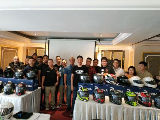 HJC Helmets Perkenalkan Tiga Produk Helm SNI Terbarunya