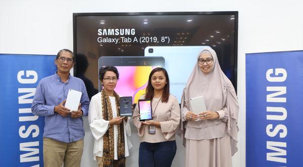Galaxy Tab A 2019, Tablet Ramah Anak yang Optimalkan Digital Learning