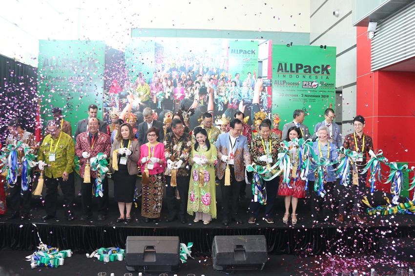 All Pack Indonesia 2019 Dibuka, Teknologi Industri Terbaru Dipamerkan