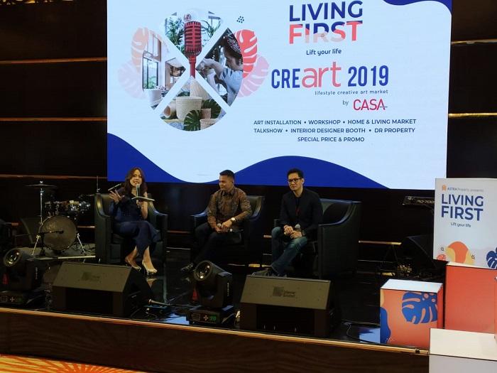 Digelar Bersamaan, Living First dan CreaArt 2019 Pamerkan Karya Arsitektur dan Interior Artistik
