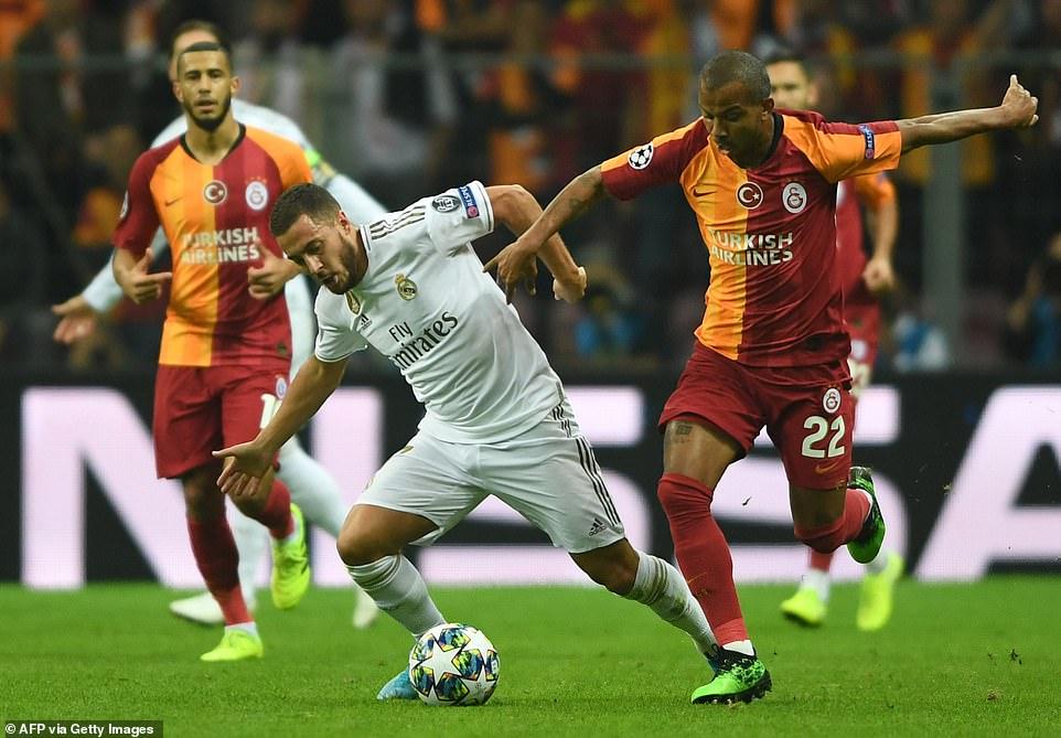 Real Madrid Siap Hentikan Langkah Galatasaray di Liga Champions 2019/20
