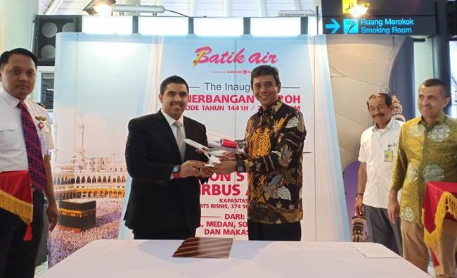 Batik Air dan Dream Tour Teken MoU Layanan Perjalanan Umrah Premium