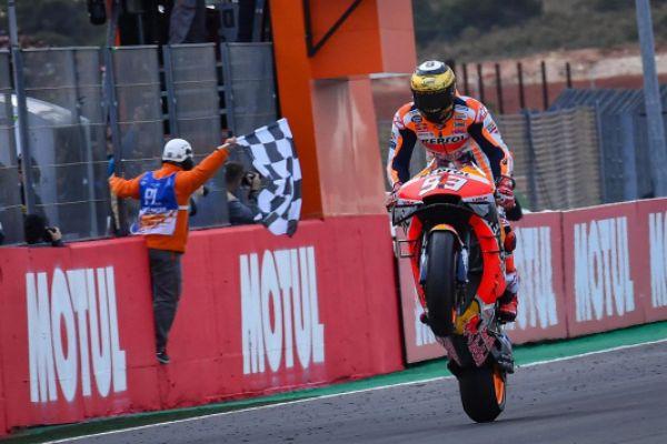 Raih Juara di Valencia, Marc Marquez Bawa Honda Raih Treble Winner di MotoGP 2019