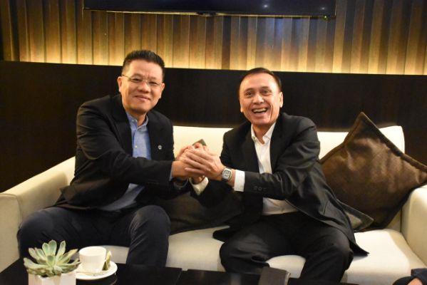 Ketum PSSI Bertemu Presiden AFF Jelang  Kick-off Timnas vs Malaysia di Kuala Lumpur