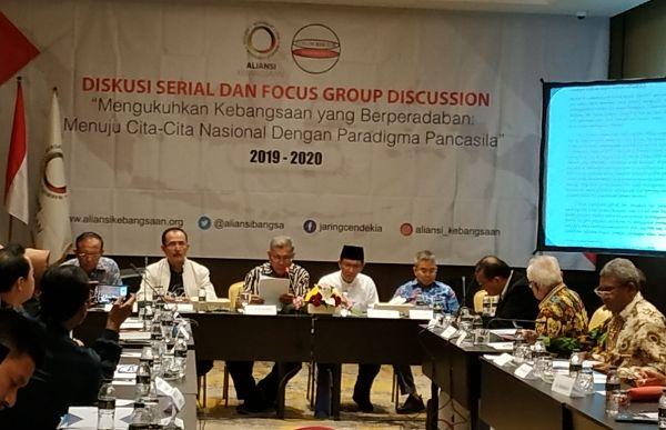 Aliansi Kebangsaan Bersama Forum Rektor Indonesia Imbau Pemerintah Hidupkan GBHN Kembali
