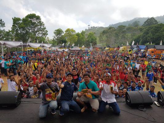 Canter Mania Indonesia Community Gelar Jambore Nasional Sekaligus Ajang Pamer Kendaraan Mitsubishi Fuso