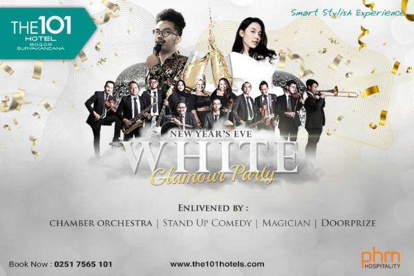 Sambut Pergantian Tahun, The 101 Bogor Gelar Acara WHITE GLAMOUR PARTY