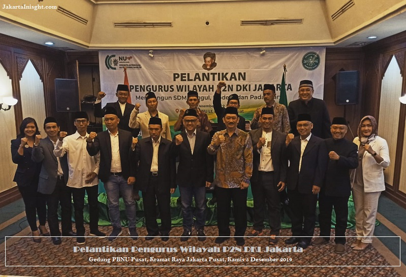 Fokus Kesejahteraan Umat, P2N Lantik Pengurus Wilayah DKI Jakarta